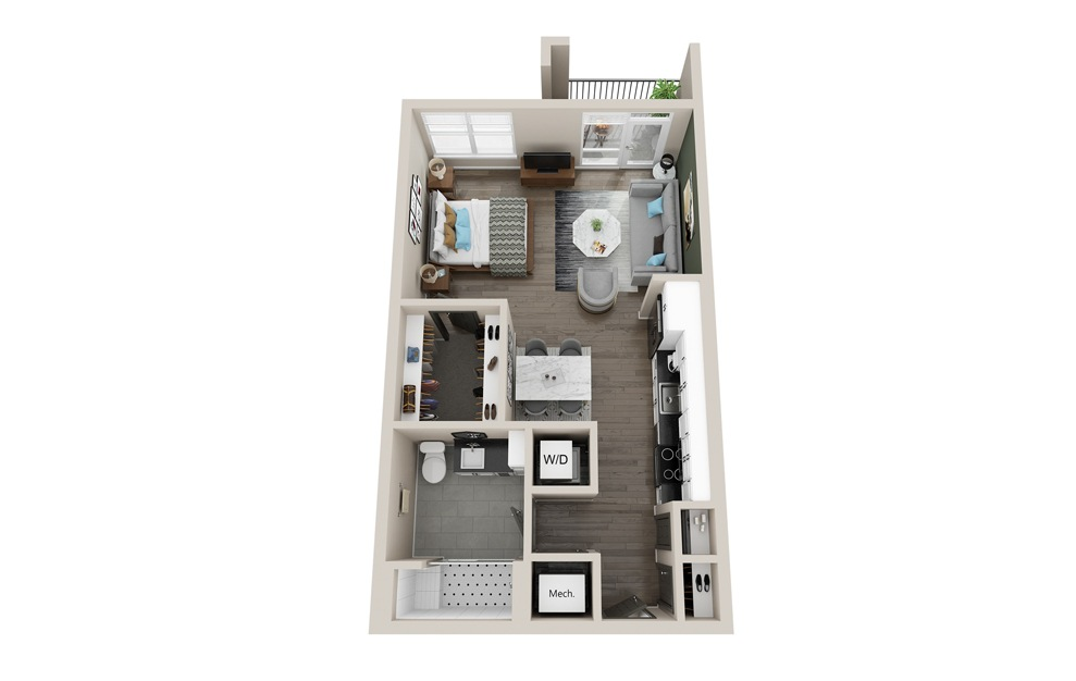 S3 - Studio Apartment